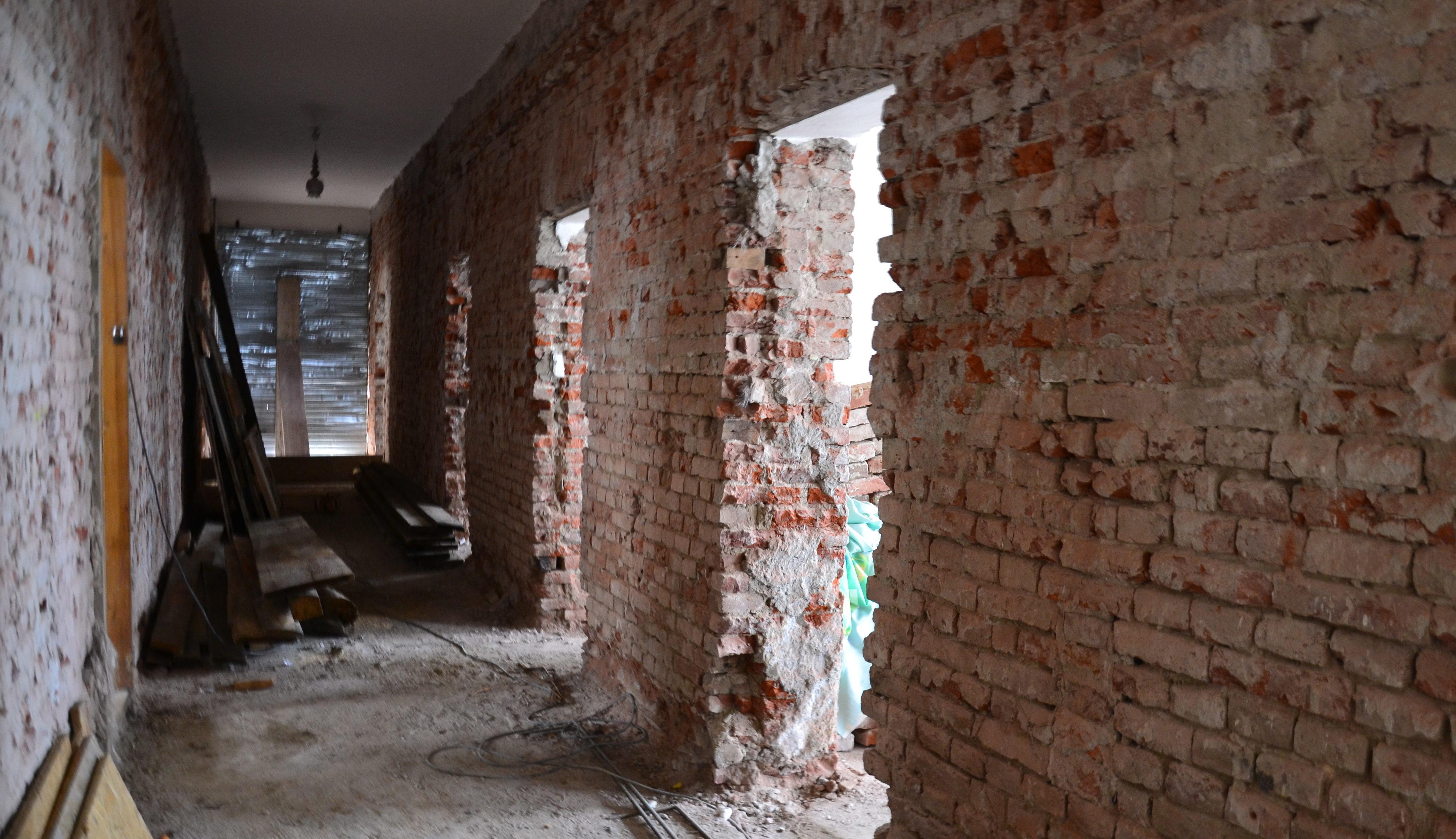 Dalszy etap prac konserwatorsko-remontowych
